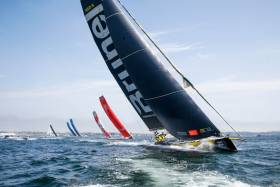 While currently third 12 hours into Leg 9, Team Brunel took the lead at the start