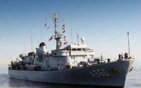 Belgium Navy's auxiliary command and logistical support ship, BNS Godetia is one of three vessels visiting Dublin over the May Bank Holiday