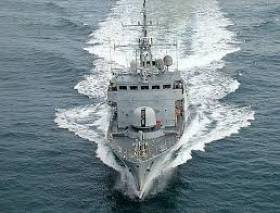 Naval ship LÉ Orla was part of the major exercise off Moville yesterday