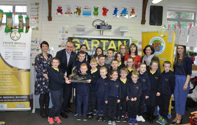 Donegal school takes first place in the national 'Something Fishy' Competition 2017
