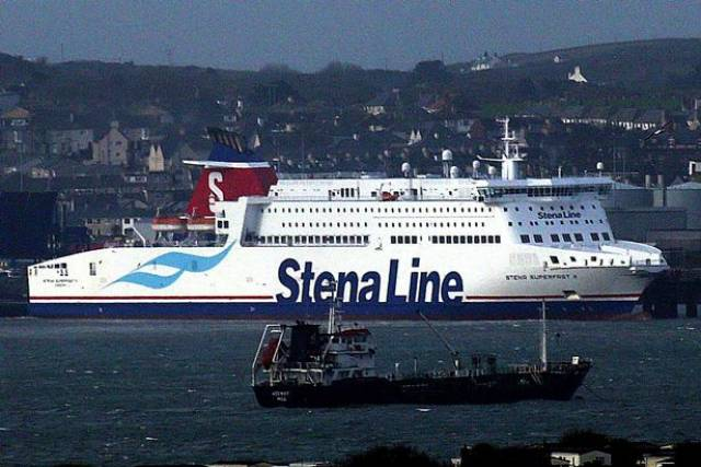 Stena chief warned about 'significant disruption' but former Brexit minister said 'teething problems' could be tackled. Above AFLOAT adds is Stena Superfast X berthed at Holyhead, north Wales along with regular bunker tanker, Keewhit.