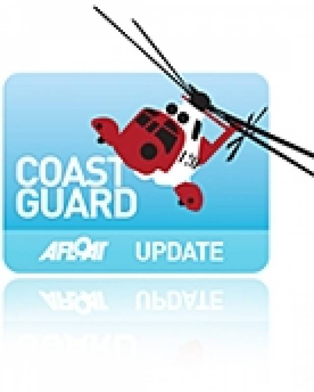 Coastguard Helicopter In Double Rescue On Sunday