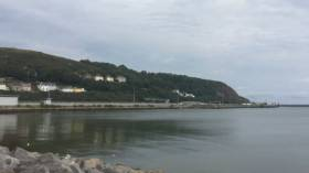 The south Wales ferryport of Fishguard.