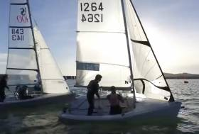 RS Dinghies at the INSS league. See video below.