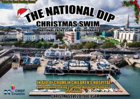 National Yacht Club Christmas Eve Swim in Aid of Children's Hospital, Crumlin