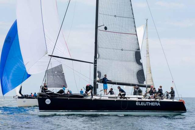 Cork Week's Class Winner Eleuthera. The Grand Soleil 44 also made a clean sweep of the Dublin Regattas this season