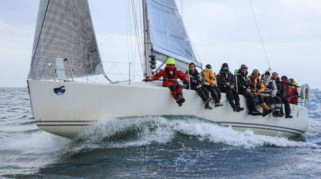 "After 5 races ""Mojito"" is leading the IRC Section of the ISORA Avery Crest Offshore Series"