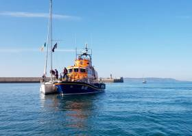 Dun Laoghaire Rescues Yacht With Engine Failure Off Bray Head
