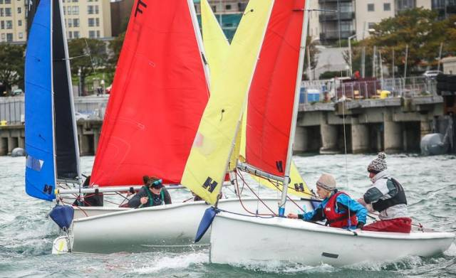 Firefly dinghies will be used to decide the Junior All Ireland Sailing Title this weekend in Dun Laoghaire at the Royal St. George Yacht Club