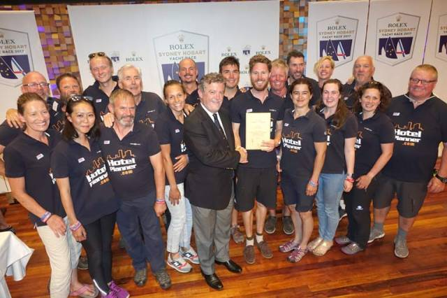 Northern Irish Clipper Skipper Celebrates Double Win In Hobart