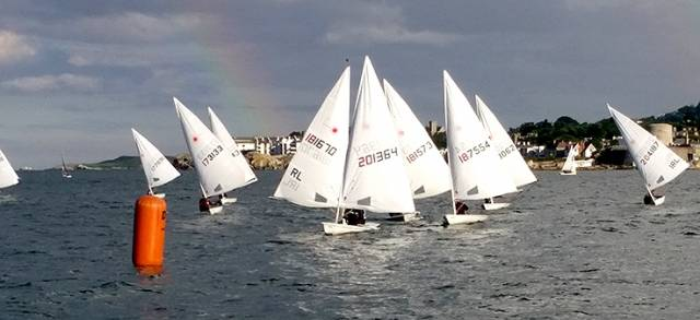 Great DBSC race management with good courses in gorgeous Scotsman's Bay has led to great Laser racing in Dublin