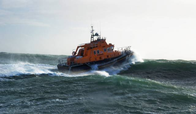 Rosslare Harbour Lifeboat Assists In Evacuation Of Ferry Passenger Taken Ill On Late Night Crossing