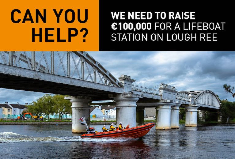 Lough Ree RNLI Looking to Raise €100k for New Base at Coosan Point