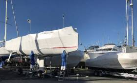 A new Jeanneau Sunfast 3600 is commissioned at MGM Boats this week