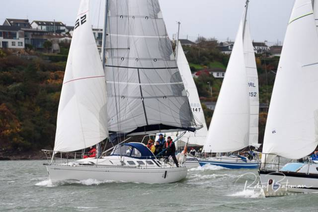 RCYC's second race of its winter league for Cruisers in Cork Harbour