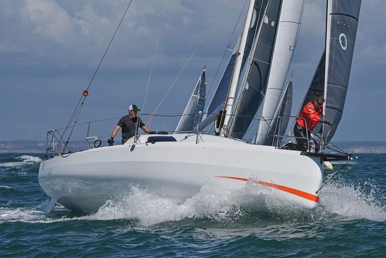 Sun Fast 3300 Gentoo Wins Race Two of RORC Two-Handed Series