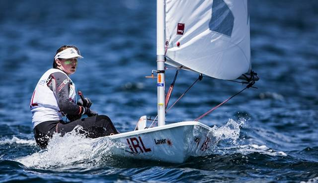 Top ten sailor – Dun Laoghaire's Nicole Hemeryck is in the top ten of the World Youth Sailing Championships with the final races left to sail tomorrow