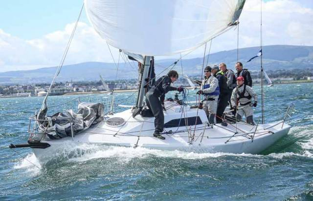 Mike Evans's  Half–Tonner The Big Picture will be in action on home waters in Howth Yacht Clubs' Spring Warmer Series on Saturday, April 1