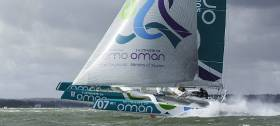 Damian Foxall will be aboard Oman Sail for June's Round Ireland Race. Musandam – OmanSail holds the record for a circumnavigation of Ireland under sail