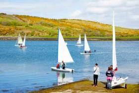 Idyllic conditions at Rosmoney on Clew Bay as Mayo SC stages its Open Day