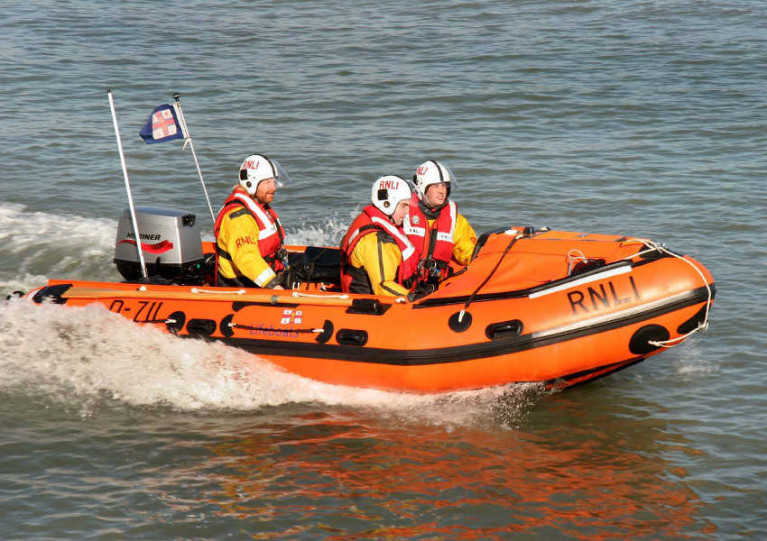 File image of Courtown RNLI's inshore lifeboat