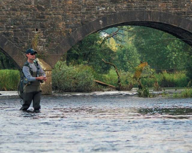 Angling on the Annalee tributary of the Erne