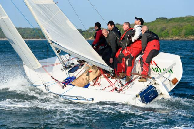 A Royal Cork 1720 in the first race of the club's May League. Scroll down for more photos