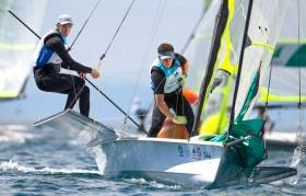 Rob Dickson and Sean Waddilove - Tokyo 2020 ambition is to win a medal in the 49er class