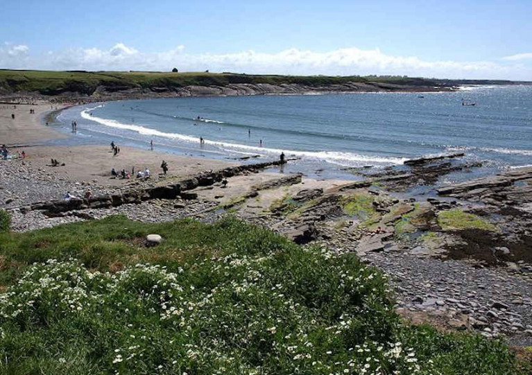 White Strand at Miltown Malbay, Co Clare