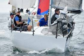 RCYC 'At Home' winner Anchor Challenge is the only Irish Quarter Ton Cup in Cowes this week