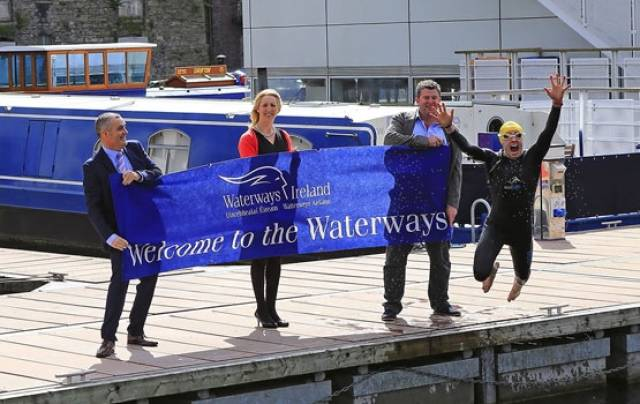 Making a splash at the launch of Waterways Ireland's 2016 events programme