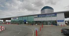 Twelve Quays Terminal in Birkenhead on the Wirral Peninsula, Merseyside where major works are to take place to enable 'next-generation' ro-ro ferries that Stena Line are to introduce on the Belfast route from next year