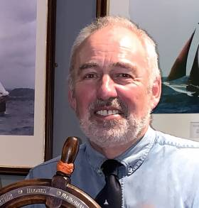 Darryl Hughes – restorer and skipper of the classic ketch Maybird