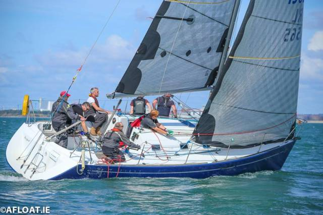Best DBSC one design – Chris Johnston's Beneteau 31.7 Prospect from the National Yacht Club