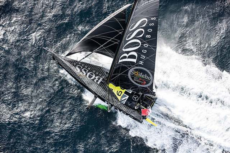 Alex Thomson - damaged rudder forced retiral