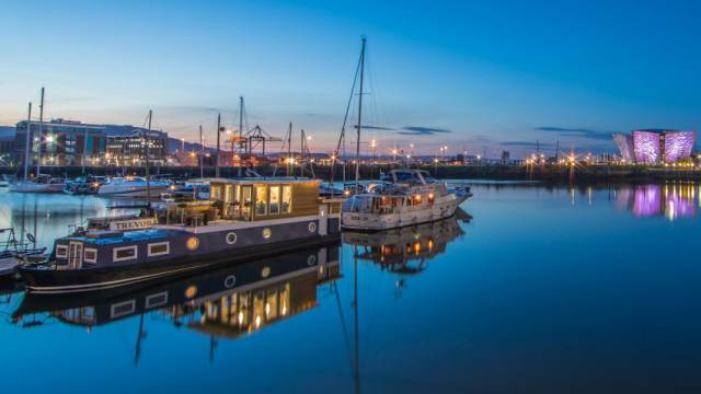 Luxury Berths In Belfast Harbour Marina Show What Barge-Building Start-Up Can Do