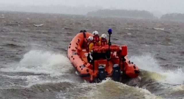RNLI On Lough Derg Respond to Vessel Reported To Be On Fire