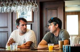 Robert (left) and Nicholas O'Leary at the Coral Reef Yacht Club, hosts of this week's Bacardi Cup in Miami