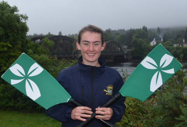 Golden Girl O'Brien Extends Ireland Run at Coupe Rowing