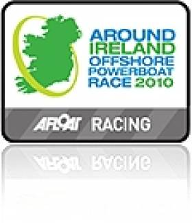Tracker link to follow the Around Ireland Powerboat Challenge fleet
