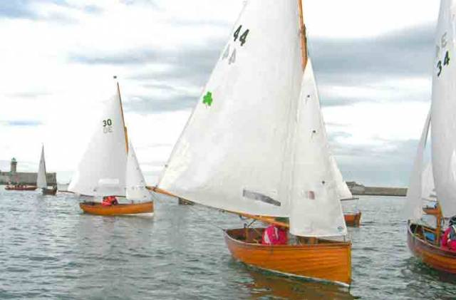 Water Wag No.44 Scallywag is one of nine heading to the traditional French yachting regatta at Morbihan