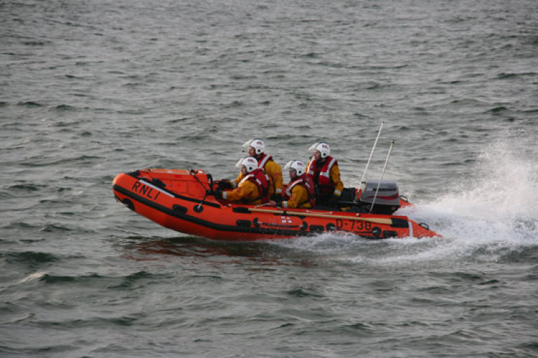 Rescue For Family Cut Off By Rising Tide In Portrush
