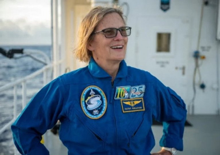 Pioneering astronaut - and now deep-sea explorer - Kathy Sullivan