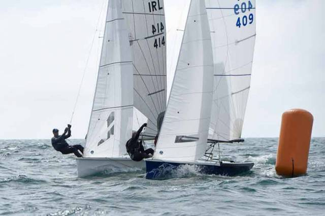 National 18s from Cork Harbour are heading to Howth Yacht Club on April 22