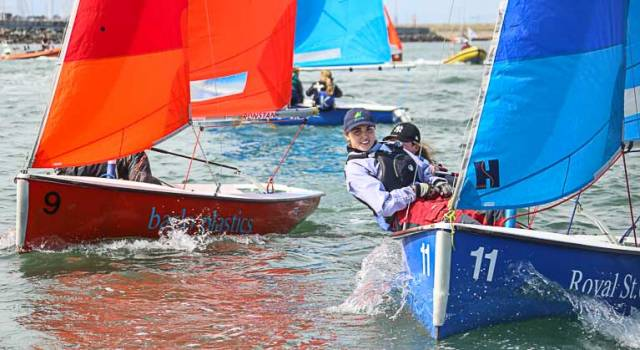 Over 150 sailors, representing nine colleges competed