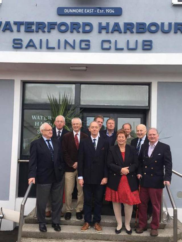 The refurbished Waterford Harbour Sailing Club was opened by Sport Ireland CEO John Treacy