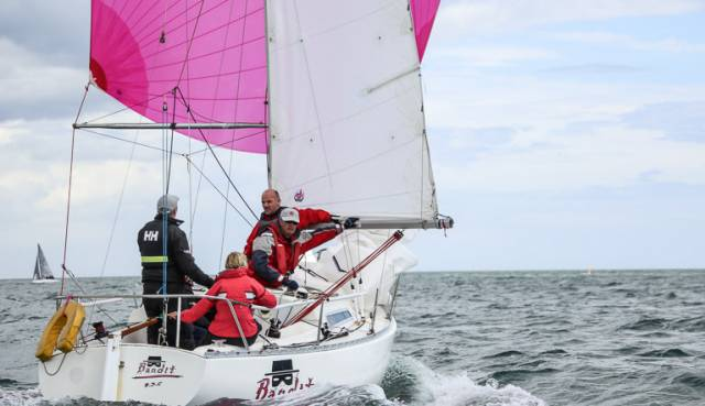 Bandit (Kirwan/Cullen/Brown) were winners in today's DBSC Ruffian 23 race