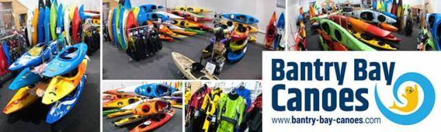 Bantry Bay Canoes offers one of the most comprehensive ranges of kayaks and equipment available in the country
