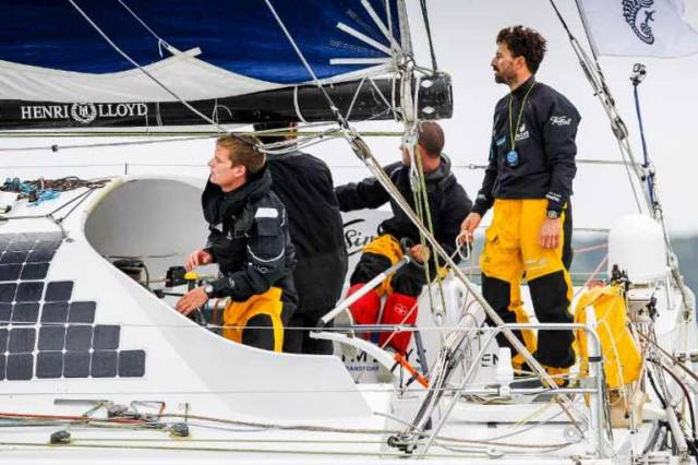 Closing in on the 40ft world record? Phil Sharp's Imerys Clean Energy
