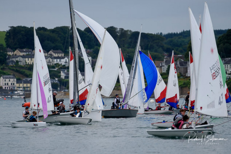 The PY1000 dinghy fleet - scroll down for a slideshow of images